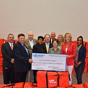 American Heart Association Presents Six Houston-Area School Districts With CPR In Schools Training Kits™