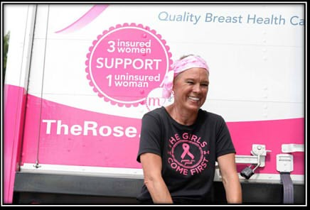 The Rose Receives $15,000 Grant to Benefit Women in Need of Quality Breast Healthcare for Second Year in a Row from Tomball Regional Health Foundation